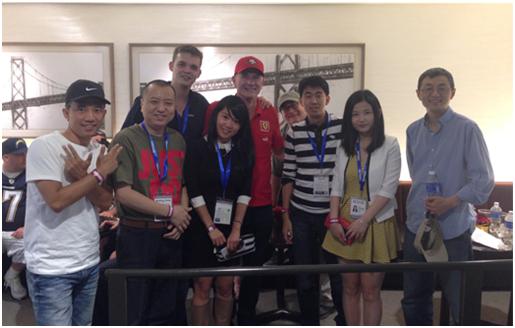 摘要:由全球移动游戏联盟独家主办的G50中美移动游戏闭门峰会于2014年8月25日上午09:00在美国硅谷Sand Hill Road Quadrus Conference Center中心举办,由GMGC秘书长宋炜带领的GMGC美国闭门考察团出席了本次会议。   由全球移动游戏联盟独家主办的G50中美移动游戏闭门峰会于2014年8月25日上午09:00在美国硅谷Sand Hill Road Quadrus Conference Center中心举办,由GMGC秘书长宋炜带领的GMGC美国闭门考