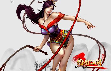 女神不止做花瓶 闯荡江湖战不停    作为动作游戏的组成,妖女当然