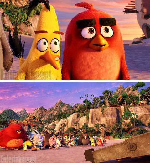 憤怒的小鳥電影劇照曝光 預計明年7月上映