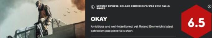 决战中途岛IGN 6.5分 用心良苦但有所欠缺